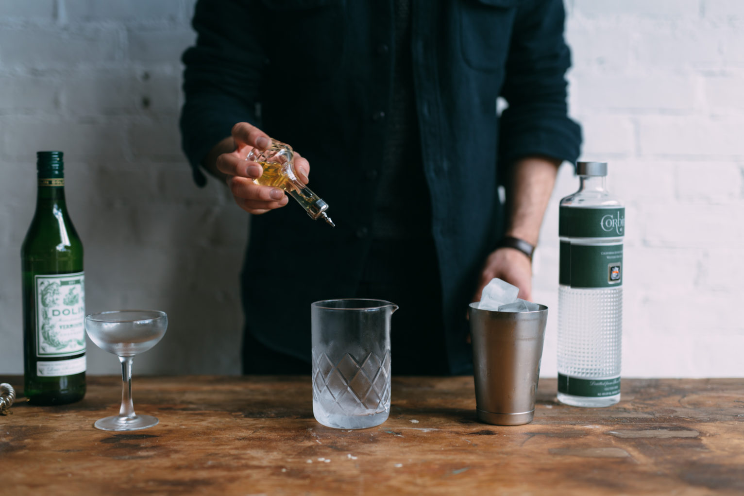 Adding a dash of bitters