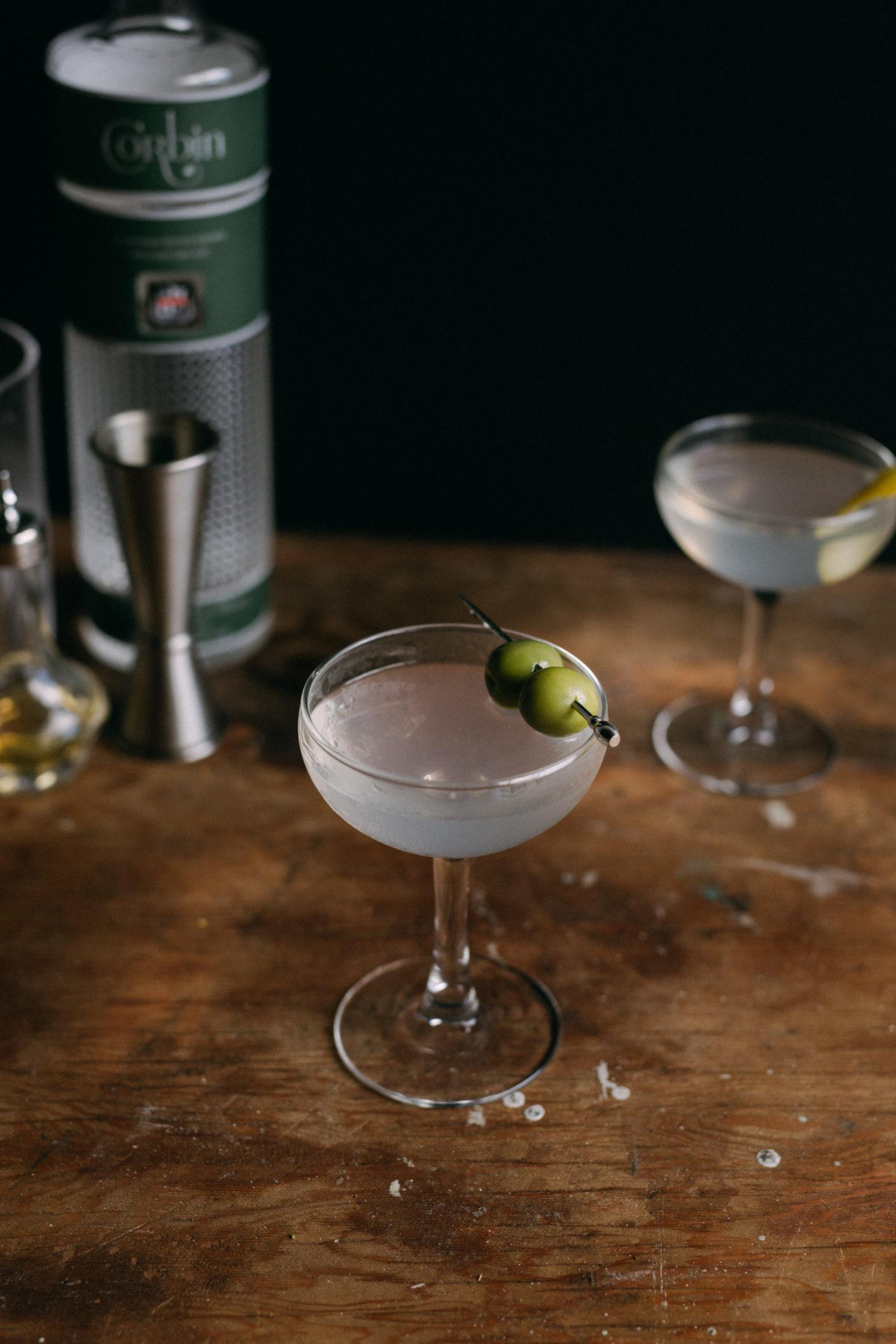 Finished Martini
