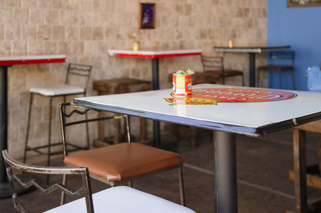 A table at Cantina Alley