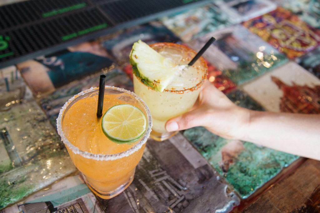 Mezcalita & a Spicy Margarita