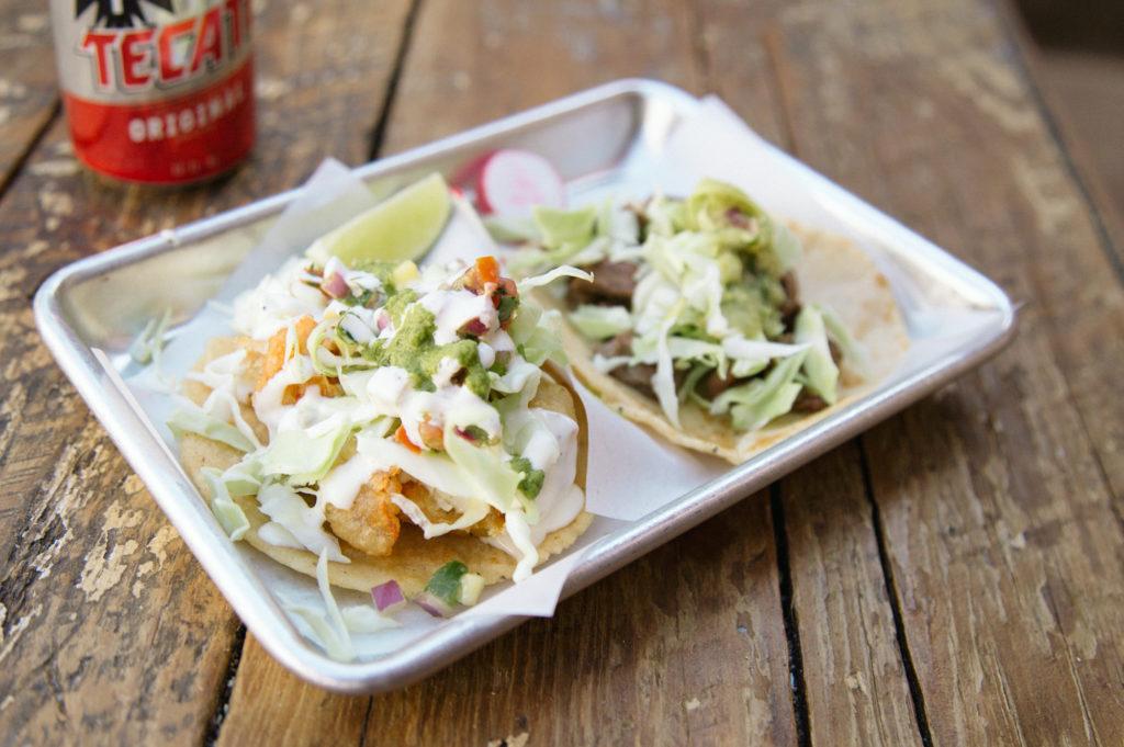 Tacos at Cantina Alley