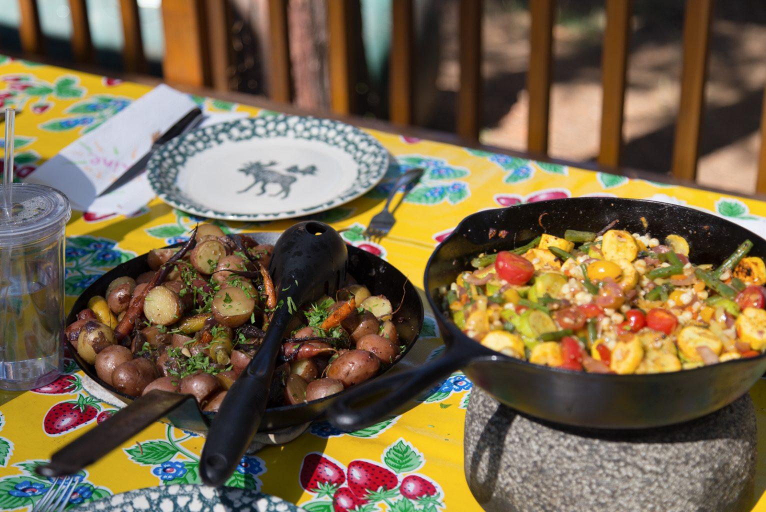 Potatoes and breakfast hash