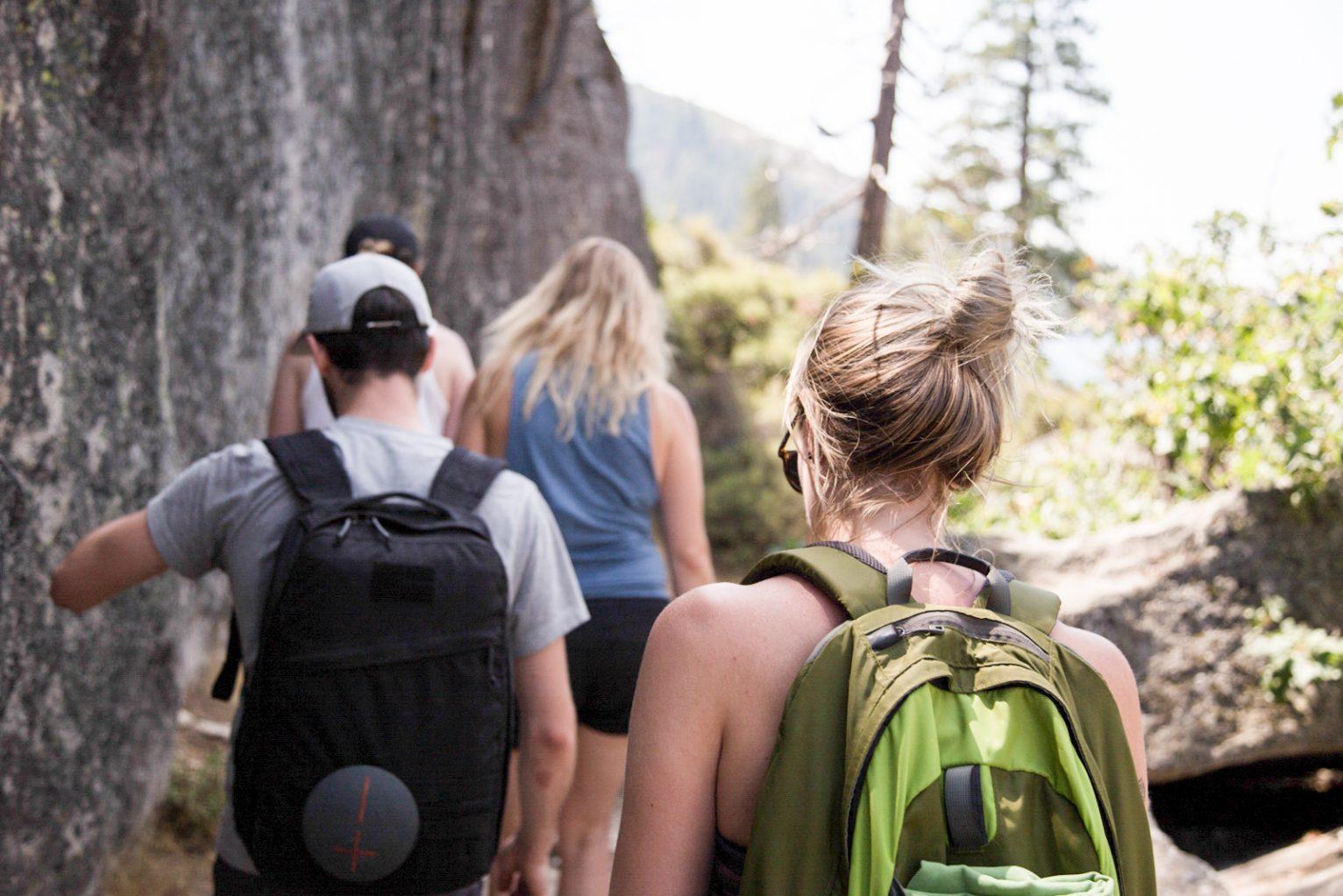 Ashley Rodseth hiking
