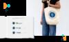 CMA brand book and tote bag