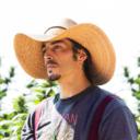 Grower from Birchville Botanicals, outdoor cannabis farm