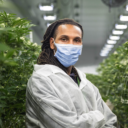 Grower from Connected, indoor cannabis farm