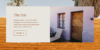 Detail of website booking element